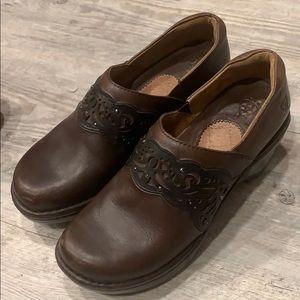 Ariat Brown Clogs- women's size 8